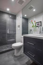 blue gray bathroom ideas architecture ideas bathroom gray walls black floors accents
