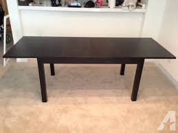 ikea black brown dining table ikea bjursta dining table seats 6 8 black brown for sale in
