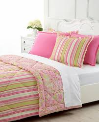 wonderful bedroom with green pink paisley print cotton 3 piece