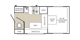 Minnie Winnie Floor Plans by 2012 Palomino Maverick 800 Camper Truck T583utc Wheelen Rv