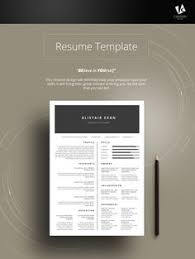 Professional Resumes Template Instant Download Professional Resume Cv Template Design