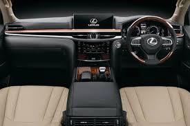 lexus lx interior 2017 lexus lx 450d priced at inr 2 32 crore in india autobics