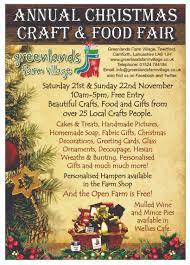 annual christmas craft and food fair greenlands farm village