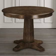 custom pedestal table basset furniture