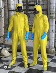 hazmat suit for genesis 2 male s daz studio products