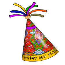 New Year S Resolution Decorations by Artbyjean Paper Crafts Happy New Year Party Hats Clipart