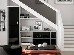 Placard Sous Escalier Avec Tablettes Dix Solutions Pour Aménager L Espace Sous L Escalier Salons