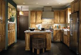 Kitchens With Stone Backsplash Kitchen Design Rustic Modern Kitchen Design With Natural Stone