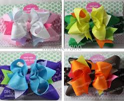handmade hair bows boutique hair bow handmade ribbon hairbows hairband