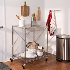 honey can do folding table honey can do folding urban stainless steel work table free