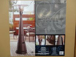 well traveled living patio heater costco patio heater home outdoor decoration