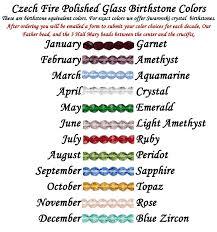 birthstone rosary custom rosary choose your hail rosary