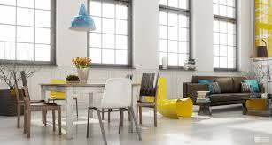 decorations cute yellow and blue scandinavian interior in