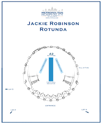 Citi Field Map Citi Field Event Spaces Jackie Robinson Rotunda New York Mets