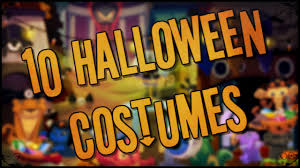 animal jam 10 halloween costumes youtube