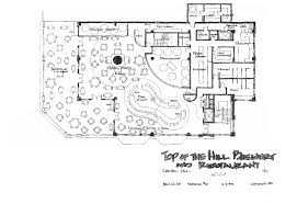 architectural plan plan a architecture restaurant design and commercial
