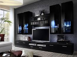 Wall Units Living Room Furniture Bmf Lyra German Style Glazed Modern Matt High Gloss Wall Unit