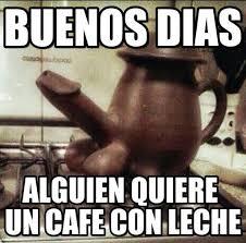 Cafe Meme - alguien quiere un café con leche http enviarpostales net imagenes