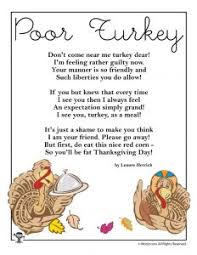 thanksgiving poems woo jr activities