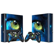 xbox e console avatar design vinyl skin sticker for microsoft xbox 360 e