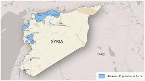 Damascus Syria Map Turkey And Syrian Turkmens Katehon Think Tank Geopolitics