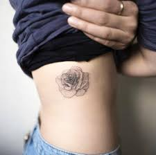 on the right side ribcage