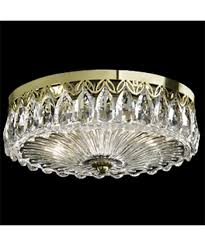 Crystal Flush Mount Lighting Schonbek Fl7067 Fontana Luce 12 Inch Wide Flush Mount Capitol