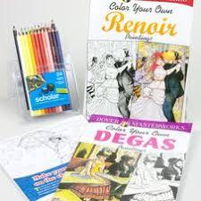prismacolor scholar colored pencils coloring book kit with prismacolor scholar 24 colored