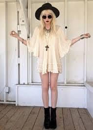 dress blouse sunglasses soft grunge boots gothic dress cream
