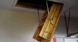 attic door home design styles