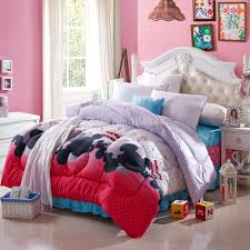 Minnie Mouse Bedspread Set Mickey Mouse Bedding Set Chinese Goods Catalog Chinaprices Net