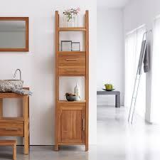 meubles en teck massif colonne teck salle de bain pas cher meuble colonnes teck massif