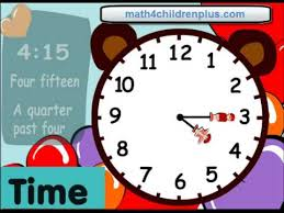 telling time fifteen minutes or quater past the hour fun clocks