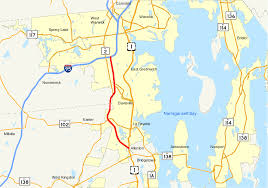 Map Routes by Rhode Island Route 4 Wikipedia