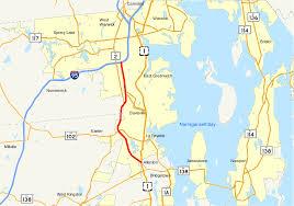 map rhode island rhode island route 4
