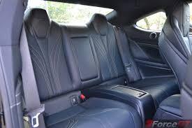 lexus rcf vs audi s4 2015 lexus rc f rear seats forcegt com