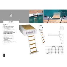 si e rabattable pour échelle pour bateau escamotable d embarquement pour plate