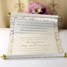 scroll invitation 2015 wholesale luxury wedding box scroll invitation buy box