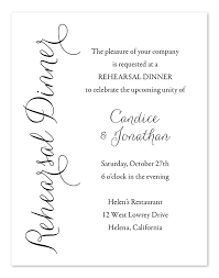 rehersal dinner invitations simply rehearsal dinner invitations by invitation