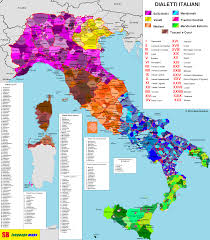 Campania Italy Map by Italian Dialects Dialetti Italiani U2013 Sb Language Maps