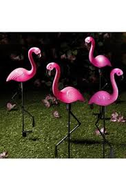 pink flamingo patio lights solar garden lights outdoor lighting studio