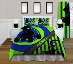 Twin Duvet Covers Boys Dirt Bike Bedding Set Motocross Bedding For Kids Boys Bed