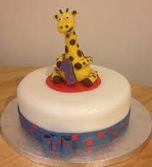 giraffe cake gary the giraffe 1st birthday cake hayley s bakes