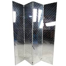 Mirror Room Divider Decor Vivacious Amazing Screen Glass Mirrored Room Divider With