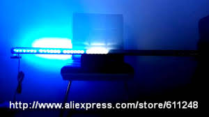 47inch bright car roof led strobe lights bar emergency