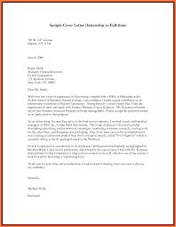 Paralegal Internship Cover Letter Resume Cover Letter Sample Cover Letter Sample Mdm Administrator