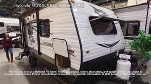 jay flight travel trailers floor plans jayco jay flight slx baja edition 195rb youtube