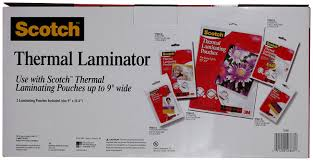 amazon com scotch thermal laminator 2 roller system tl901c