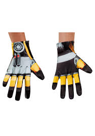 Transformer Halloween Costumes Transformers 4 Bumblebee Gloves