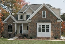 home designs awesome stone combination wall stone and brick homes
